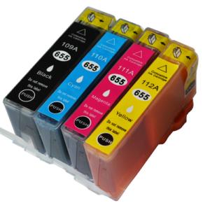 HP 655 *Value-Pack* C/M/Y/K Cartridge