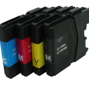 Brother LC39 Black Cyan Magenta Yellow - Value Pack