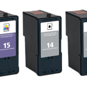 Lexmark 15 Colour Replacement Ink Cartridge 18C2110
