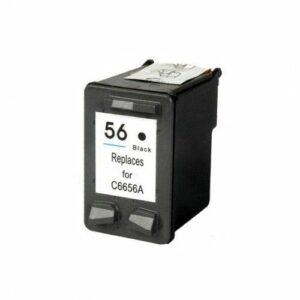 HP 56 Black Replacement Ink Cartridge (C6656AE)