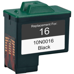 Lexmark 16 Black Ink Cartridge