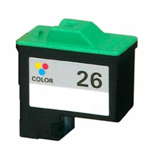 Lexmark 26 Colour Replacement Ink Cartridge 10N0026