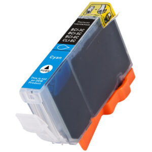 Canon BCI-6C-Cyan Generic Ink Cartridge