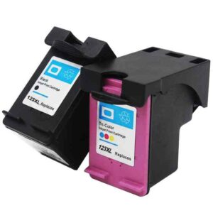 HP 123 XL Black Replacement Ink Cartridge (F6V18AE)