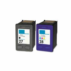 HP 27 + HP 28 Black & Colour - Value Pack