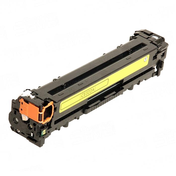 HP 128A Yellow ECO Laserjet Toner Cartridge (CE322A)