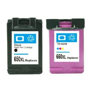 HP 650XL Black + Colour - Value Pack