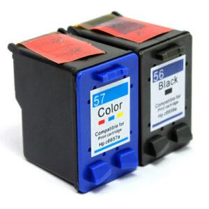 HP 56 + 57 Black & Colour Value Pack