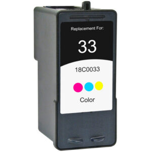 Lexmark 33 Colour Ink Cartridge