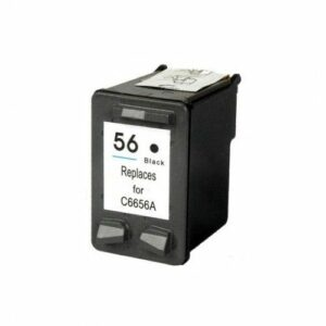 HP 56-Black Ink Cartridge (C6656AE)