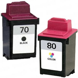 Lexmark 70/80 *Value-Pack* Black/Colour Cartridges