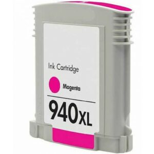 HP 940-Magenta Ink Cartridge (C4908A)