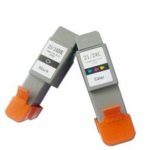 Canon BC21/24 Black/Colour Generic Ink Cartridges