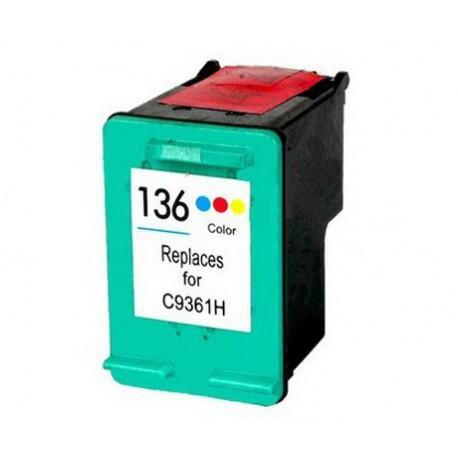 HP 136 Generic Ink Cartridge (C9361HE)