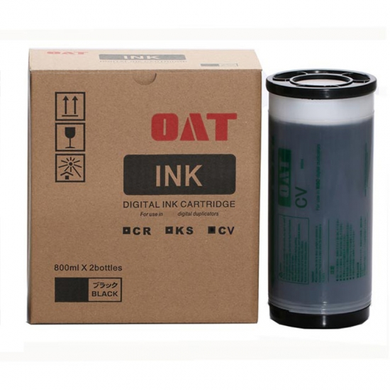 RISO RZ200 Red & Green Generic Ink