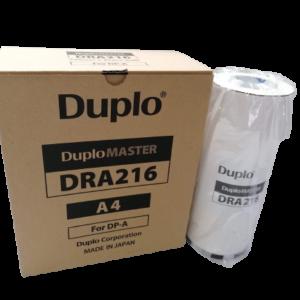 Duplo DRA216 Original A4 Master Roll