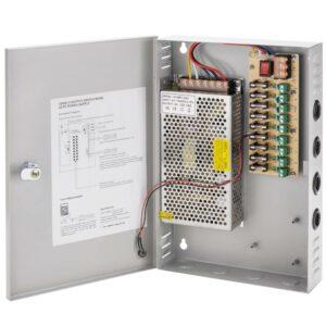 9 Channel/Camera 12V Power Supply