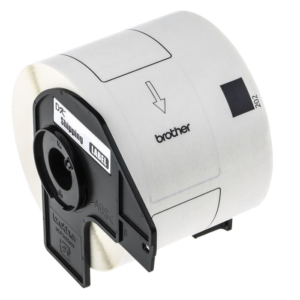 Brother DK Series Paper Tape (White/Black)