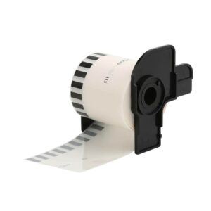 Brother DK-22213 Label Roll (Clear/Black)