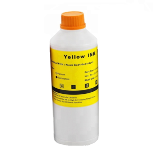 Ricoh Yellow Sublimation Dye Ink Bottle